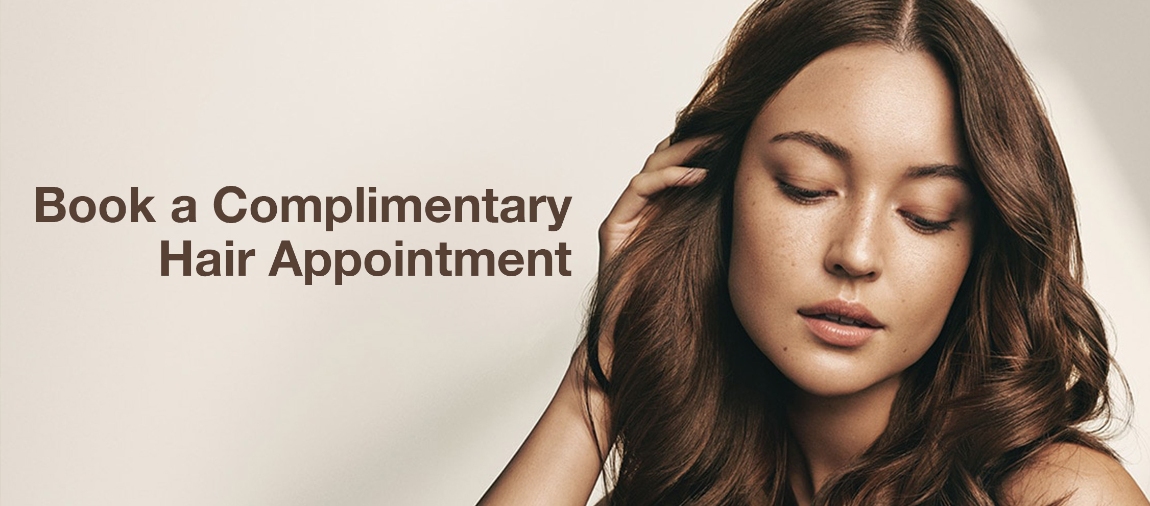 Book a Complimentary Hair Appointment